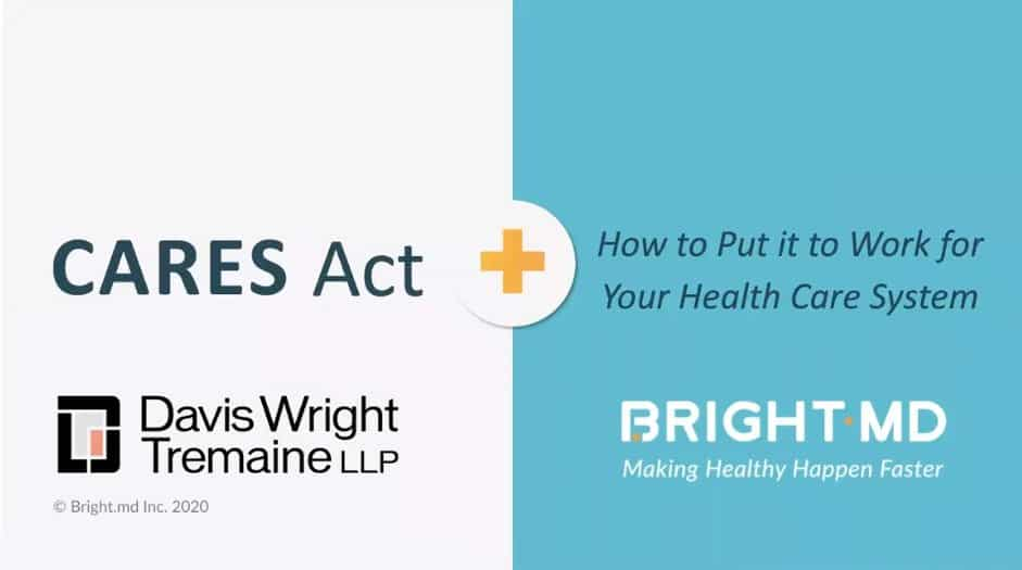 Webcast: Put the CARES Act to work for your healthcare system