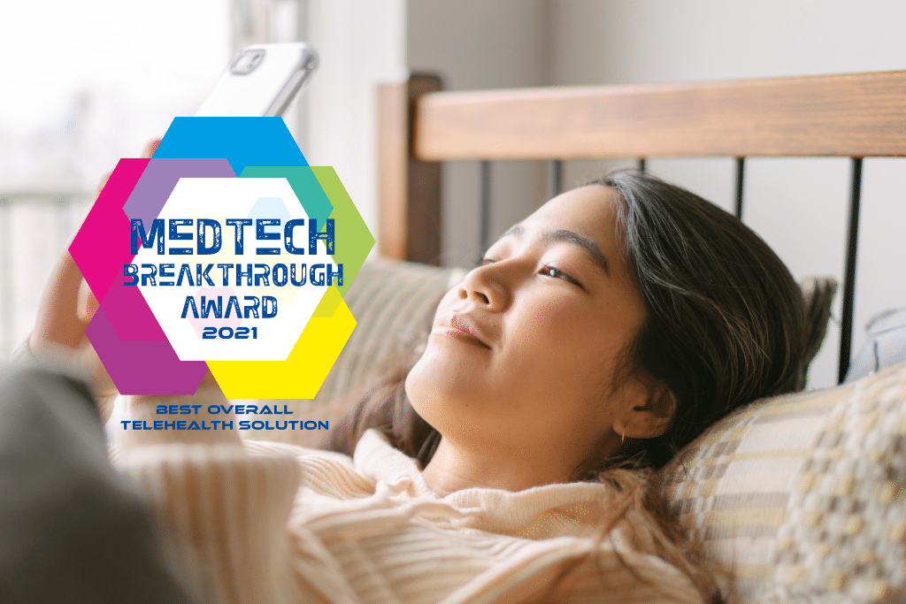 Read more about the article Bright.md wins 2021 MedTech Breakthrough Award for Best Overall Telehealth Solution